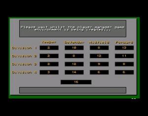 Player Manager brukte godt med tid når det genererte opp et nytt spill.